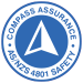 Future Recycling Compass Assurance AS/NZS 4801 Safety Logo